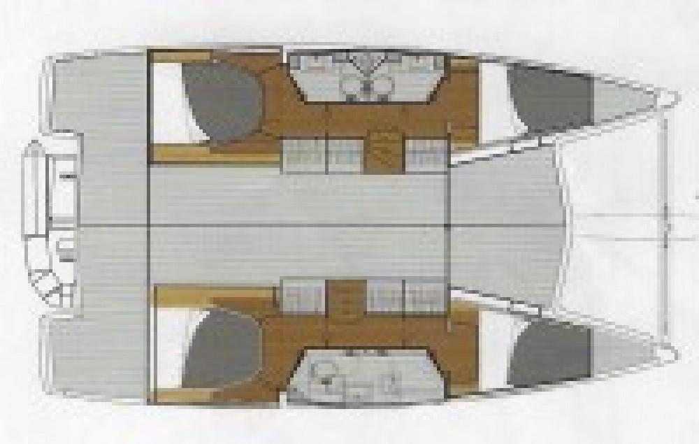 Location Catamaran à Italie - Lucia Lucia 40