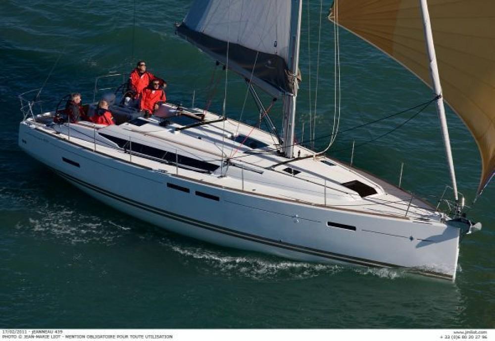 Location bateau Jeanneau Sun Odyssey 439 à Corfou sur Samboat
