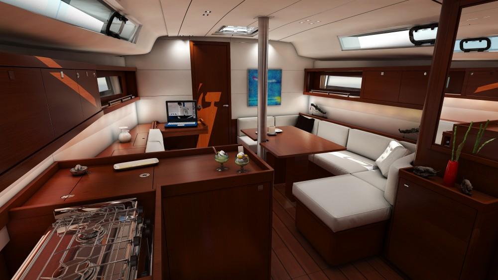 Location bateau Καλαφατιώνες pas cher Oceanis 41.1