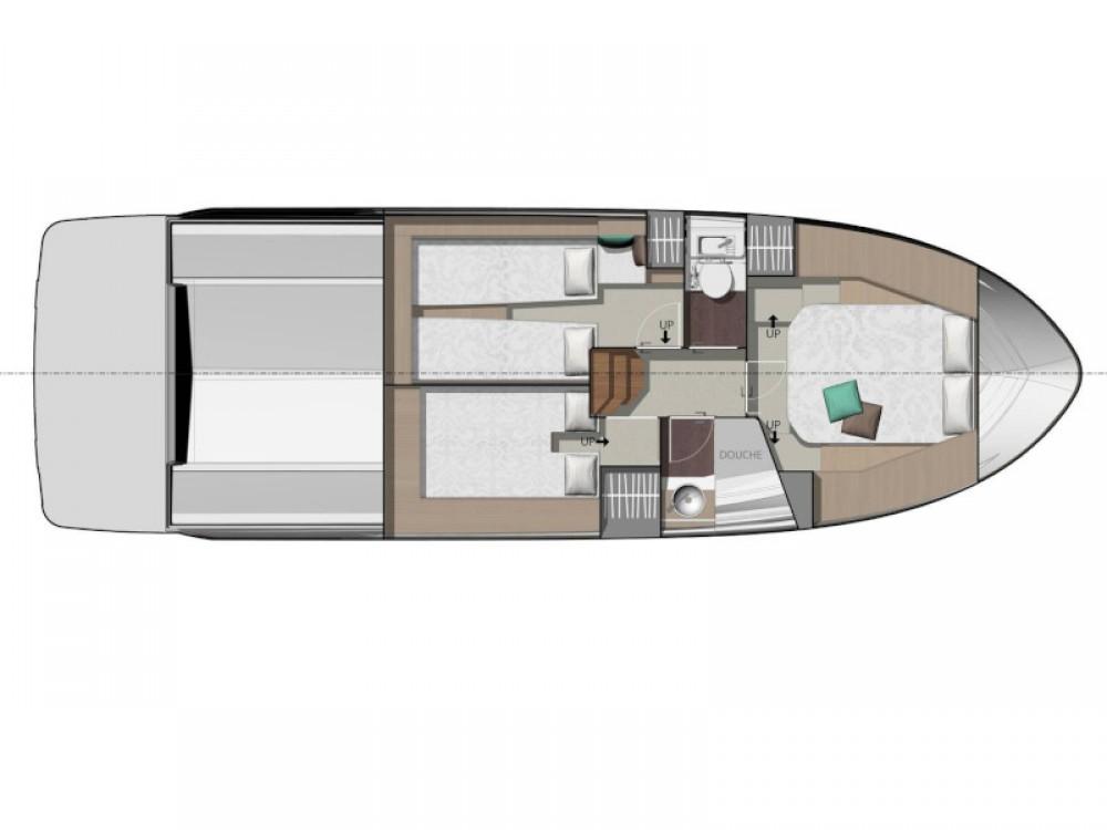 Location bateau Jeanneau Jeanneau NC 37 à Marina d'Arechi sur Samboat