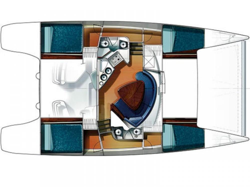 Location Catamaran à Le Pirée - Fountaine Pajot Lavezzi 40