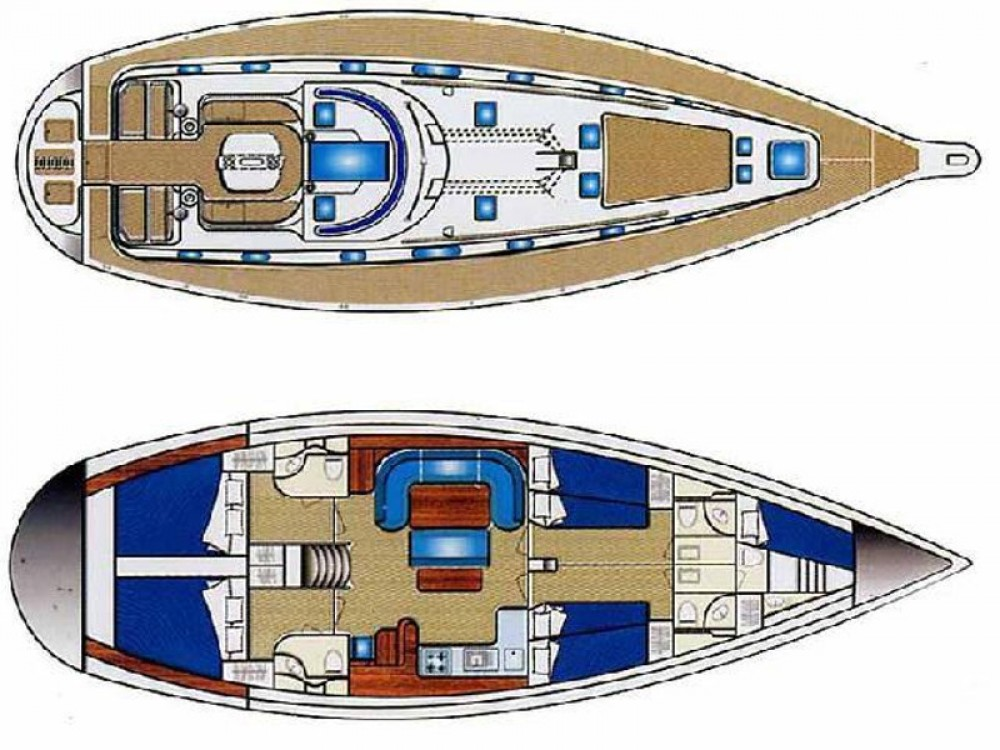 Ocean Ocean Star 51.2 entre particuliers et professionnel à Marina de Alimos