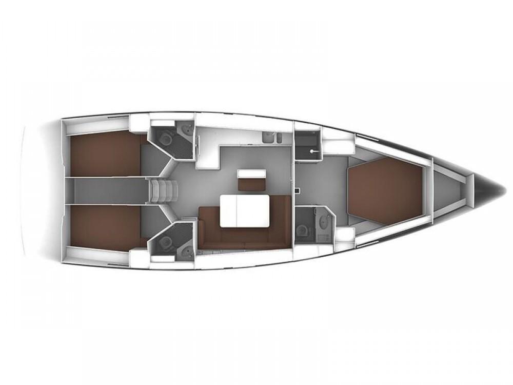 Location bateau Bavaria Bavaria Cruiser 46 à Laurion sur Samboat