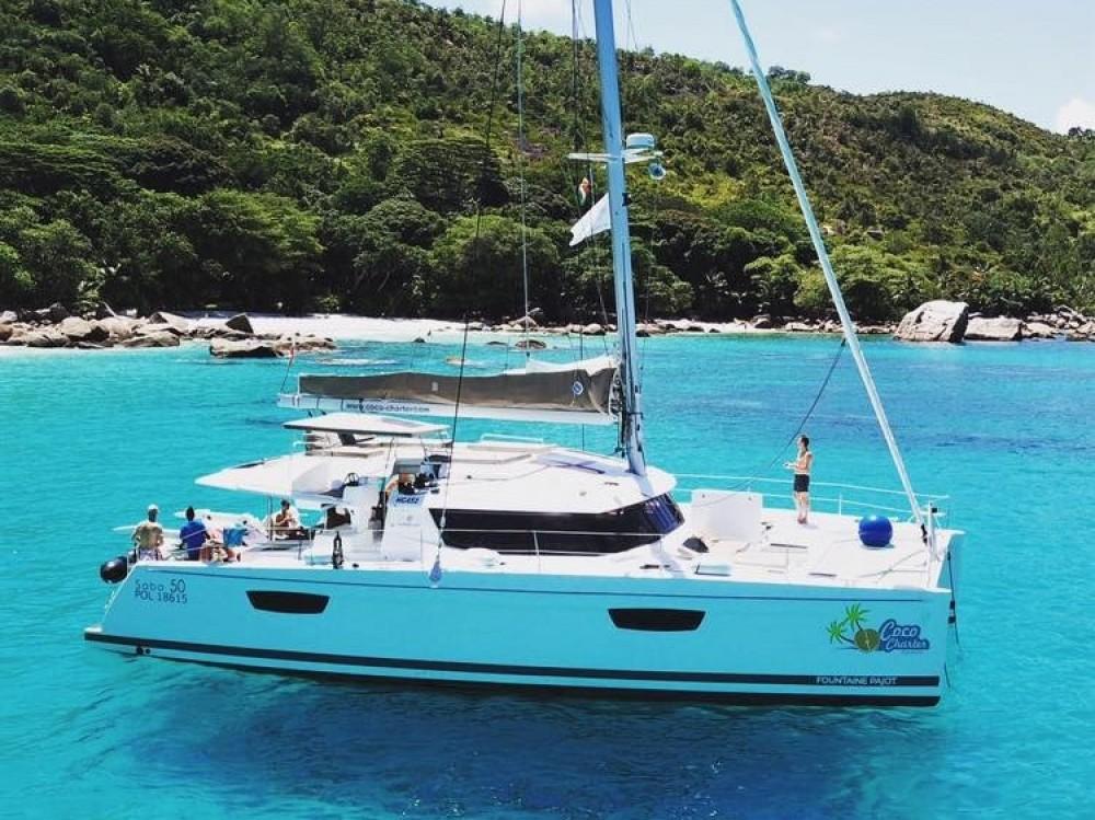 Location yacht à Victoria - Fountaine Pajot Saba 50 [7 CAB] sur SamBoat