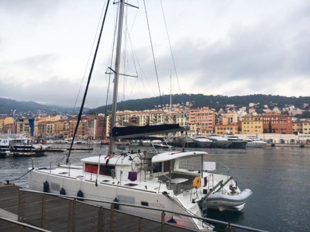 Location bateau Ibiza pas cher Lagoon 400
