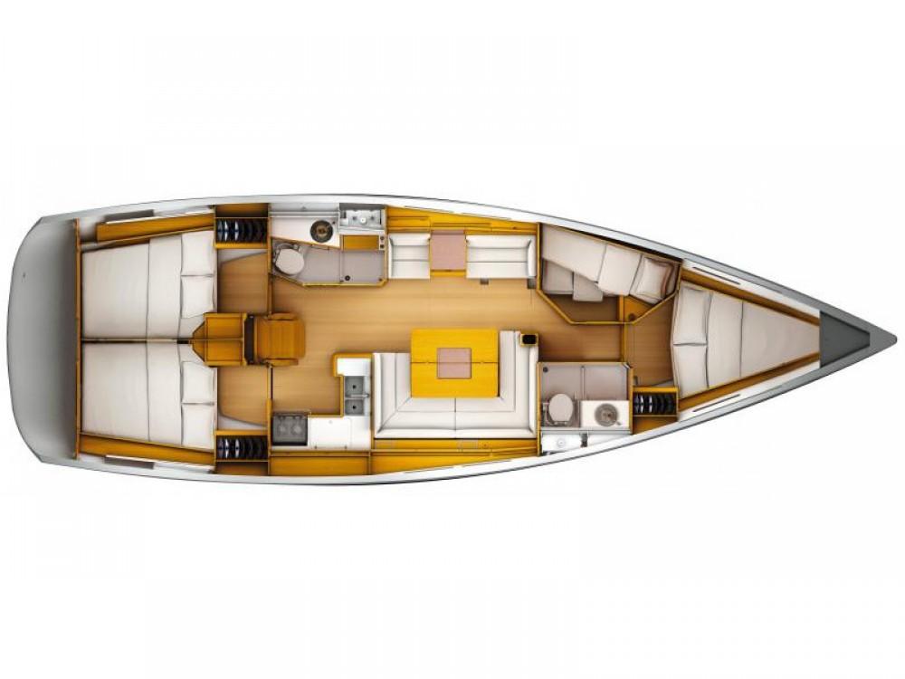 Location bateau Jeanneau Sun Odyssey 449 à Göteborg sur Samboat