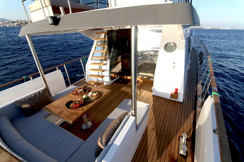 Yacht à louer à Myconos au meilleur prix
