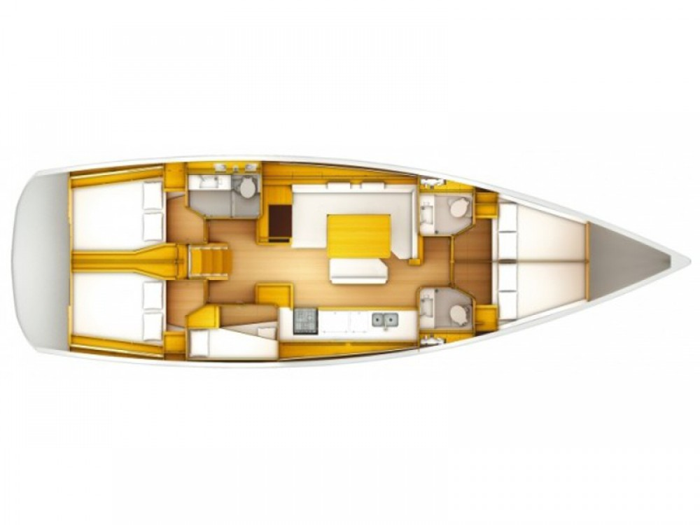Jeanneau Sun Odyssey 519 entre particuliers et professionnel à Marina Lanzarote