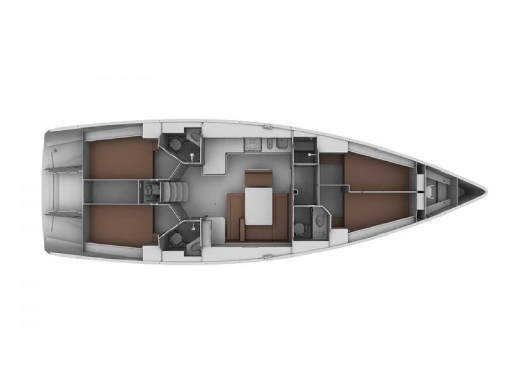 Location Voilier à Sukošan - Bavaria Bavaria 45 Cruiser