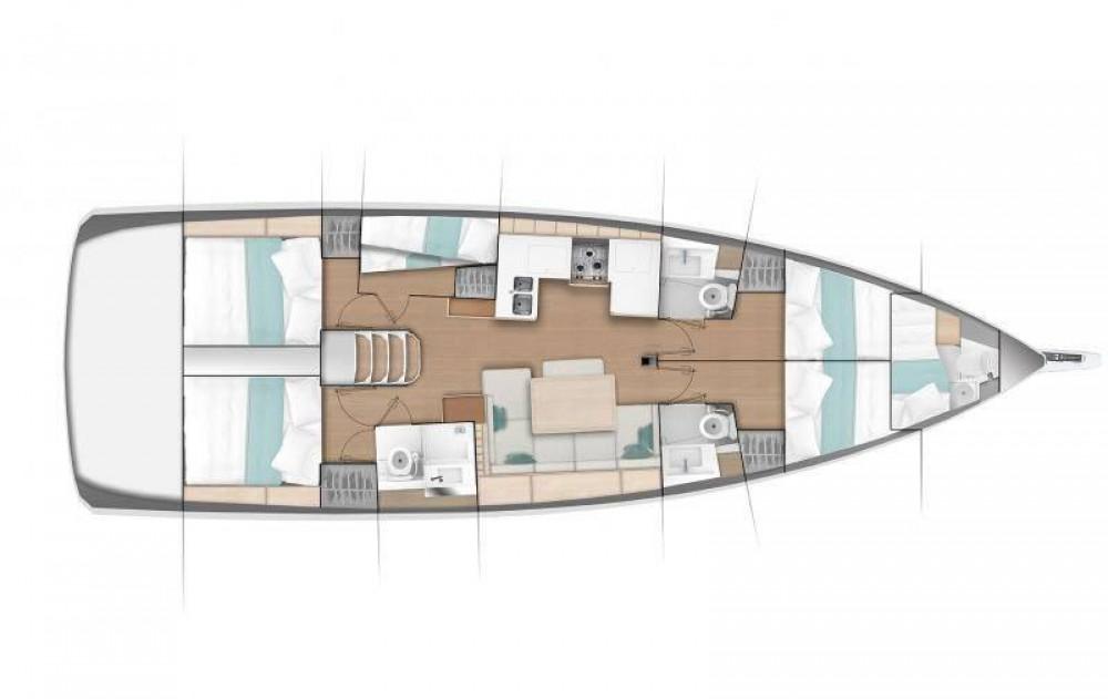 Location yacht à Sukošan - Jeanneau Sun Odyssey 490 sur SamBoat