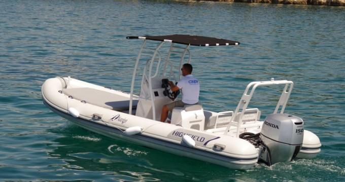 Location bateau Sukošan pas cher Highfield Patrol 660
