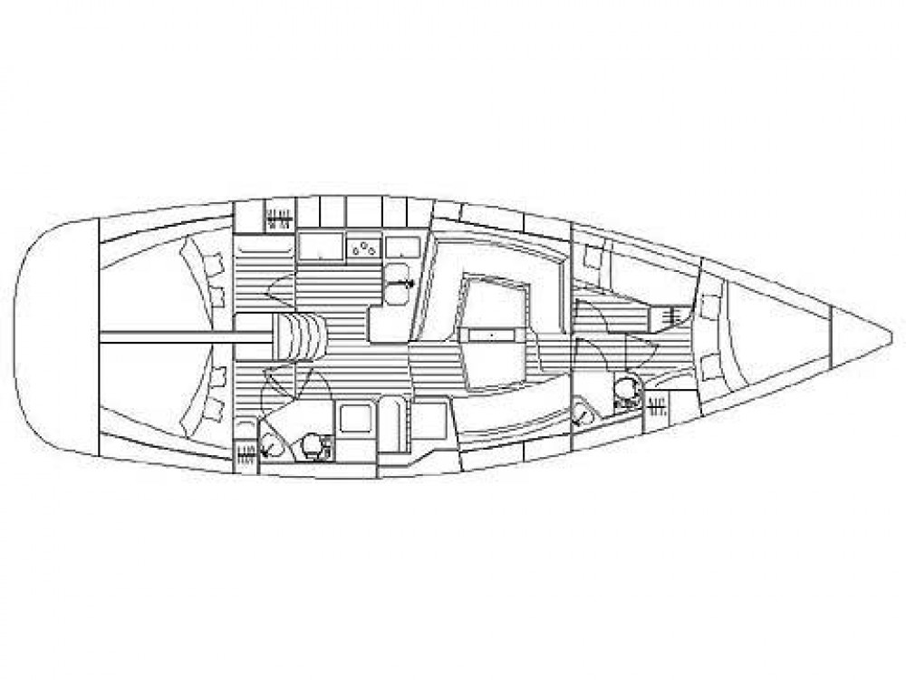 Location bateau Primošten pas cher Elan 434
