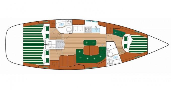 Location yacht à Sukošan - Bénéteau Oceanis 423 M sur SamBoat