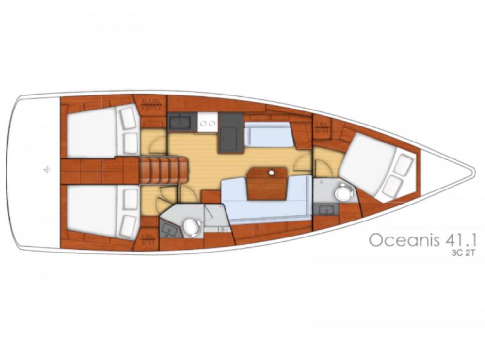 Bénéteau Oceanis 41.1 entre particuliers et professionnel à Sukošan