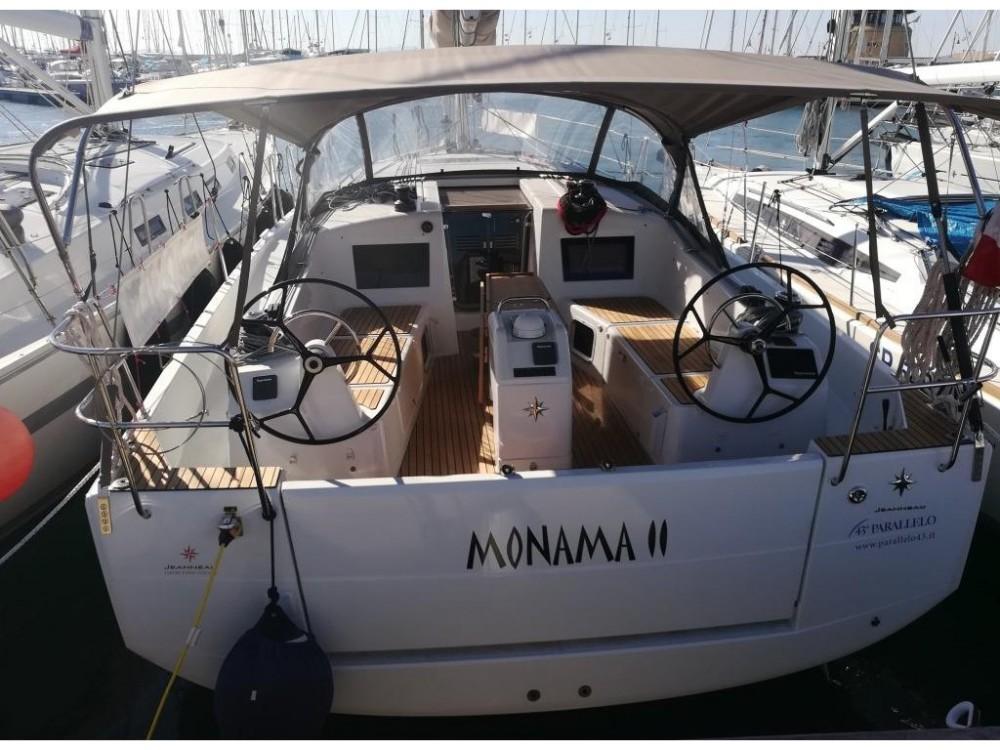 Jeanneau Sun Odyssey 410 entre particuliers et professionnel à Follonica