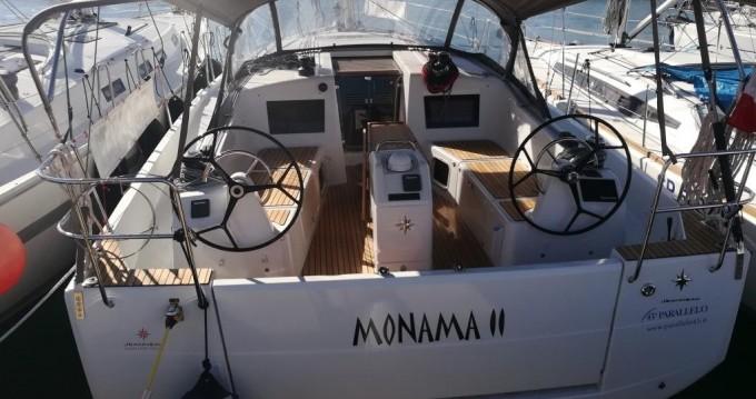 Location bateau Follonica pas cher Sun Odyssey 410
