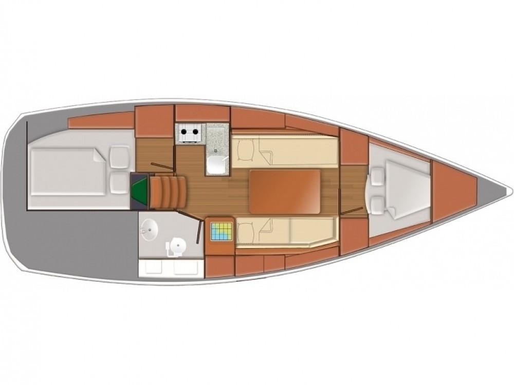 Louer Voilier avec ou sans skipper Jeanneau à Follonica