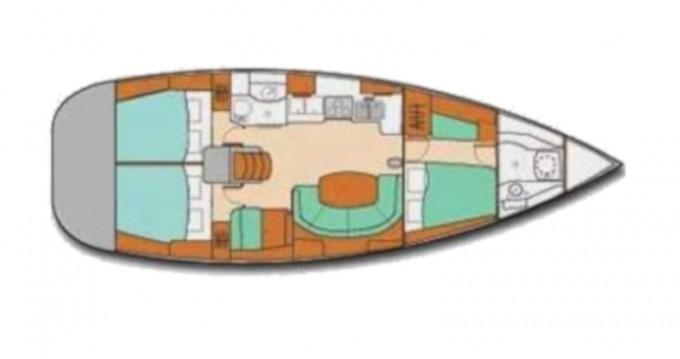 Location bateau Bénéteau Oceanis 41 à Ribishi sur Samboat