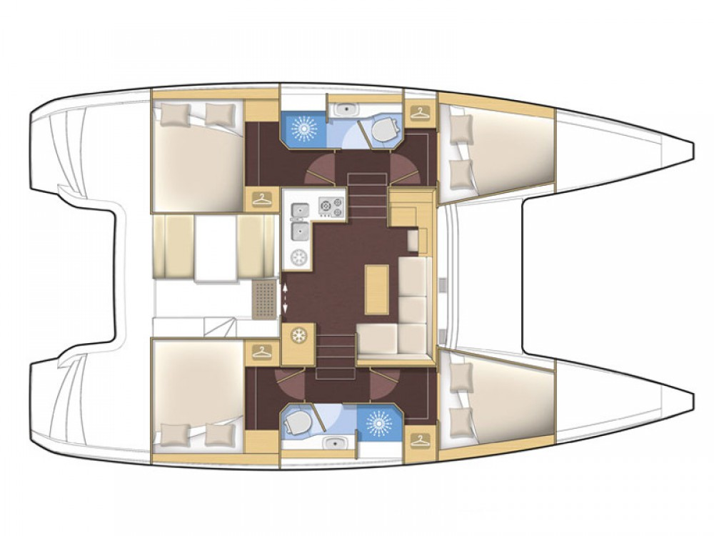 Louer Catamaran avec ou sans skipper Lagoon à Kingstown