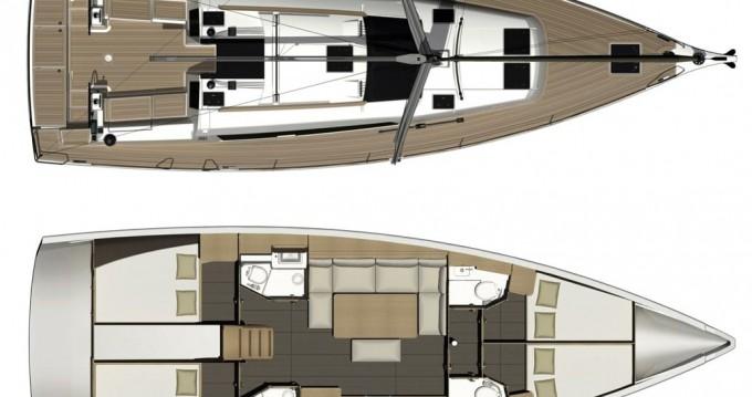 Location bateau Dufour Dufour 460 Grand Large à Níkiti sur Samboat