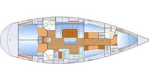Location yacht à Níkiti - Bavaria Bavaria 50 Cruiser sur SamBoat