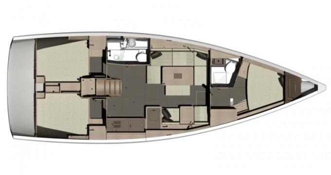 Location bateau Dufour Dufour 412 Grand Large à Capo d'Orlando sur Samboat