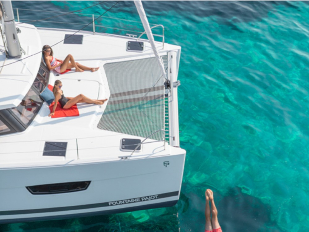 Location Catamaran à Capo d'Orlando Marina - Fountaine Pajot Lucia 40