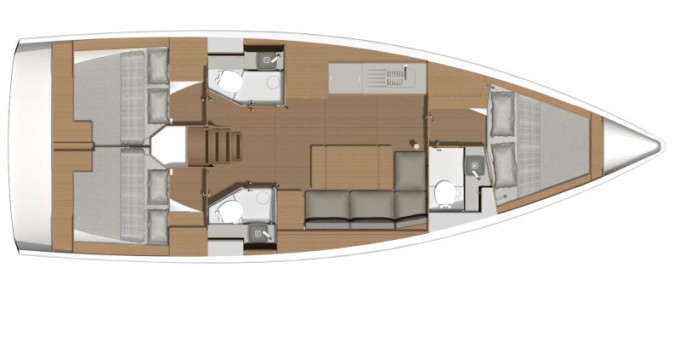 Location bateau Dufour Dufour 390 Grand Large à Capo d'Orlando sur Samboat