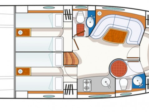Blu Blu Martin 46 ST entre particuliers et professionnel à Cannigione