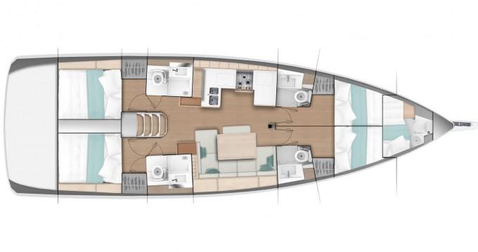 Jeanneau Sun Odyssey 490 entre particuliers et professionnel à Marmaris