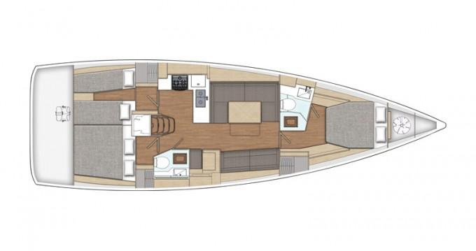 Location bateau X-Yachts X4-6 model 2019 à Lávrio sur Samboat