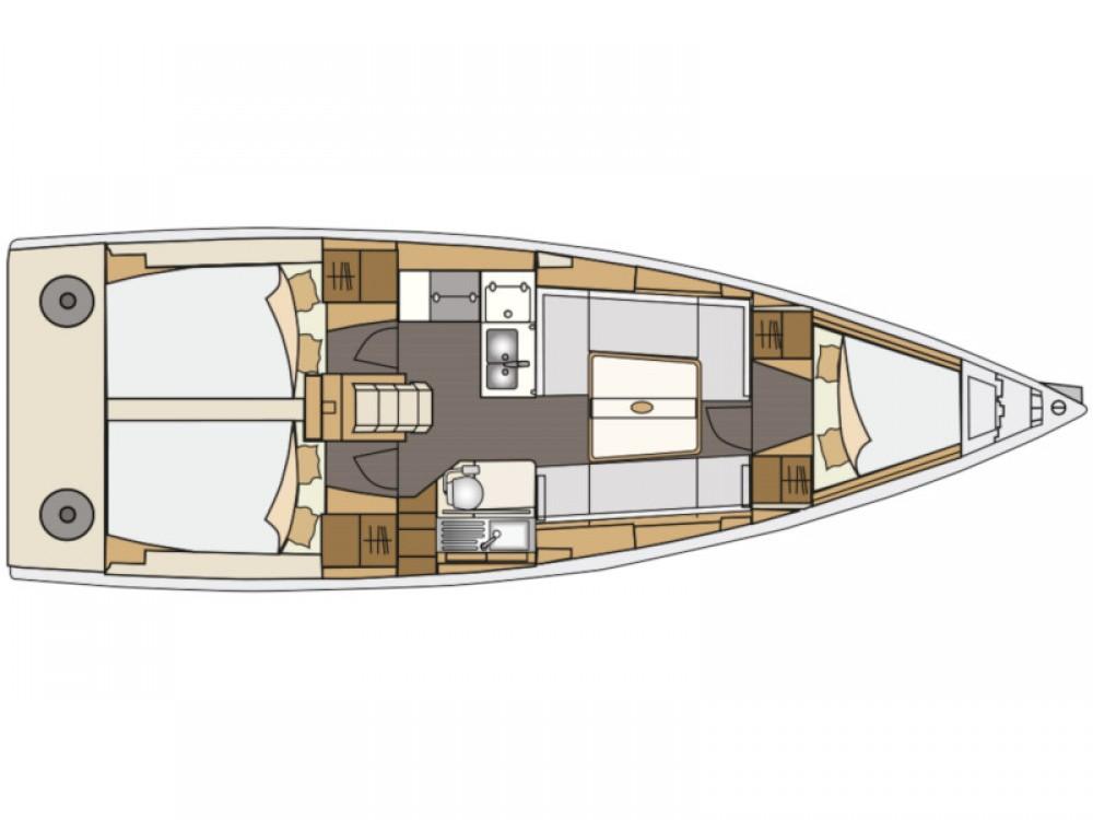 Location bateau Elan Elan E4 à Marina Pirovac sur Samboat