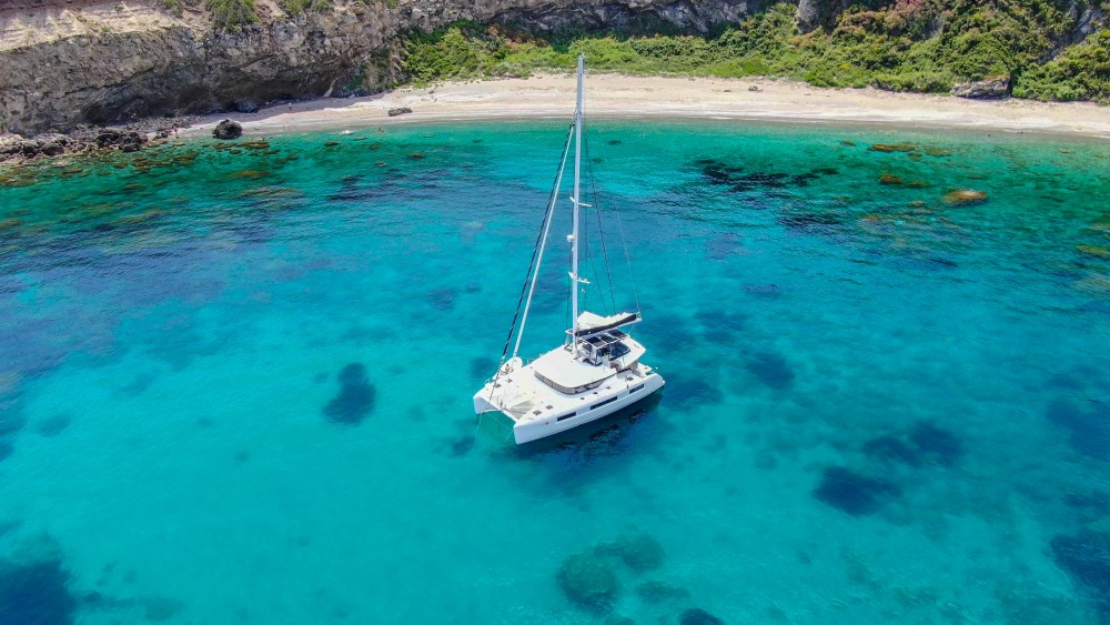 Location yacht à Slano - Lagoon Lagoon 50 LUX elegance (2019) equipped with airconditioning (saloon + cabins), generator, watermaker, ice maker, dishwasher, washer/dryer, 2 SUP, snorkelling equipment sur SamBoat