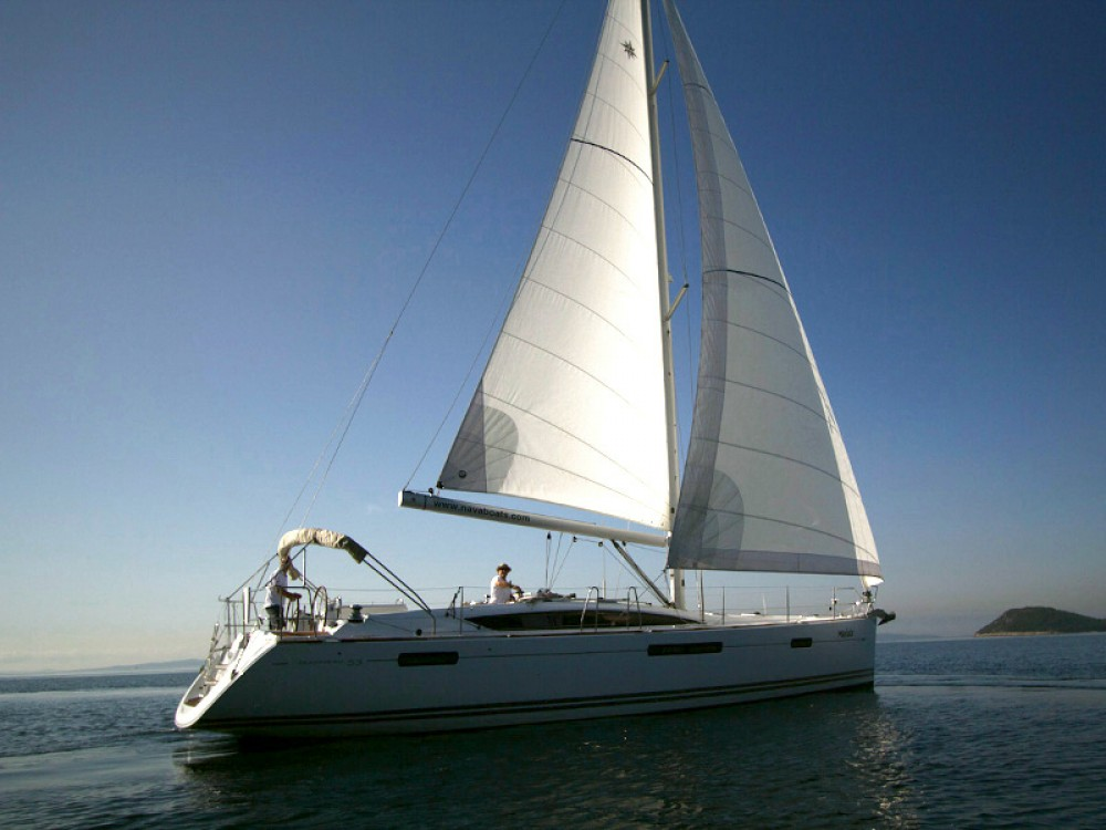 Location yacht à Split - Jeanneau Jeanneau 53 (2013) equipped with roll mainsail, bow thruster, generator, A/C (saloon), TV/DVD sur SamBoat