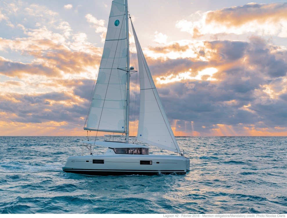 Location bateau Slano pas cher Lagoon 42 (2020) equipped with generator, A/C (saloon+cabins),water maker, microwave oven with grill