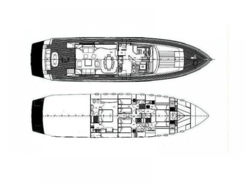 Louer Yacht avec ou sans skipper  à Ponza