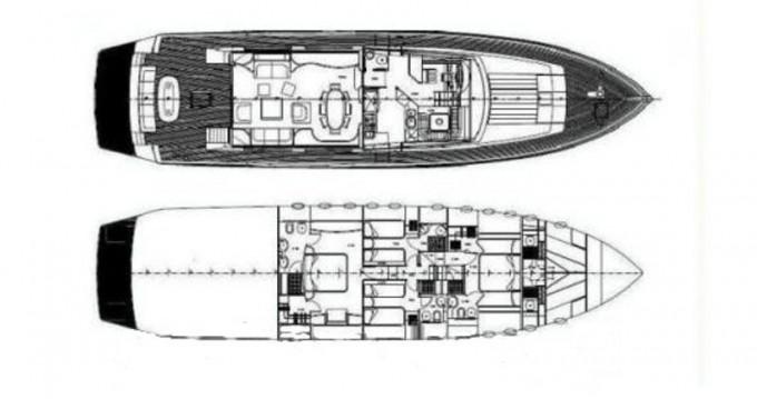 Louer Yacht avec ou sans skipper Posillipo à Ponza