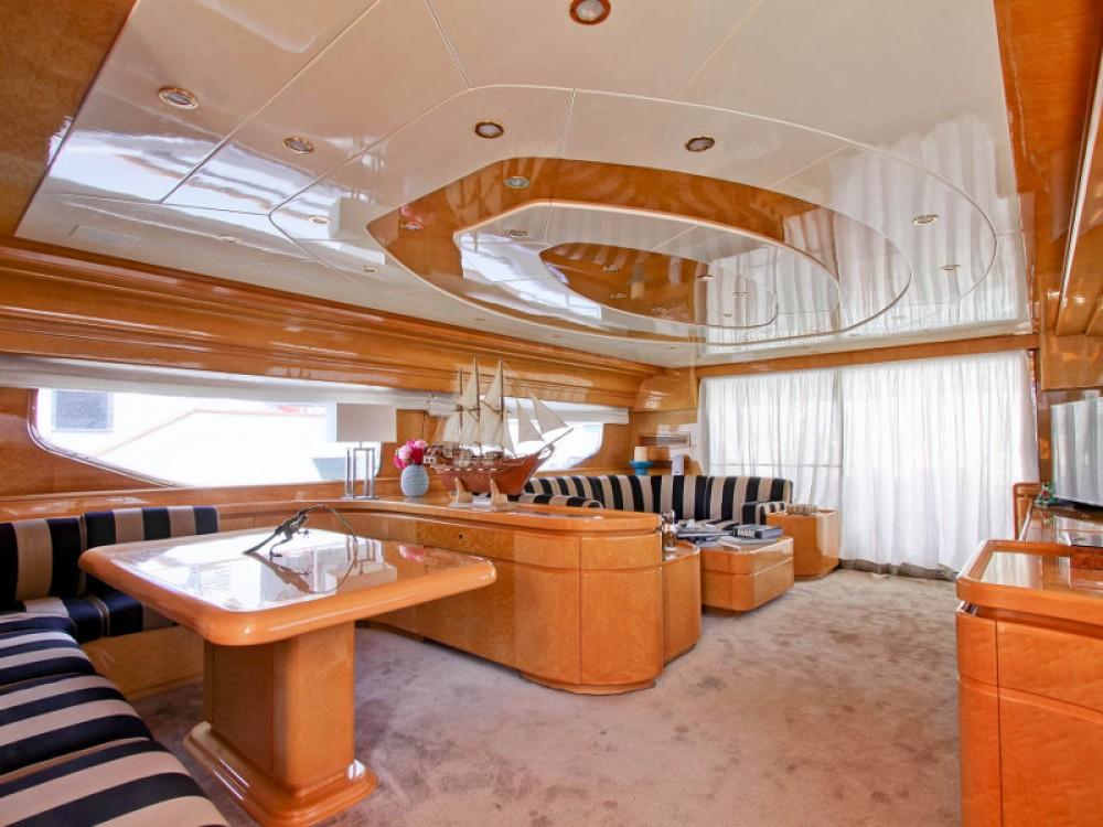 Location Yacht à Ponza -  Rizzardi Posillipo Technema 80