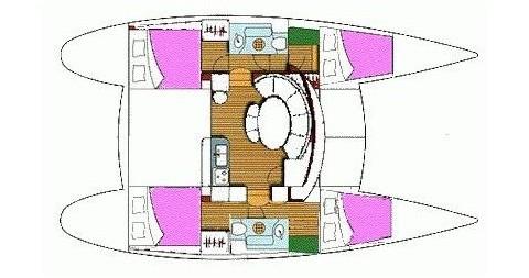 Catamaran à louer à Lefkada (Île) au meilleur prix