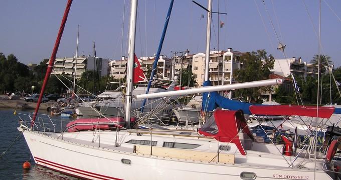 Location bateau Jeanneau Sun Odyssey 37.1 à Port de Lefkada sur Samboat