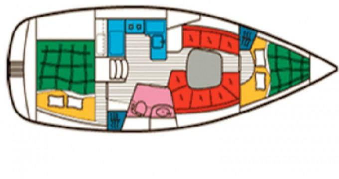 Location yacht à Gouviá - Bénéteau Beneteau 331 Master sur SamBoat