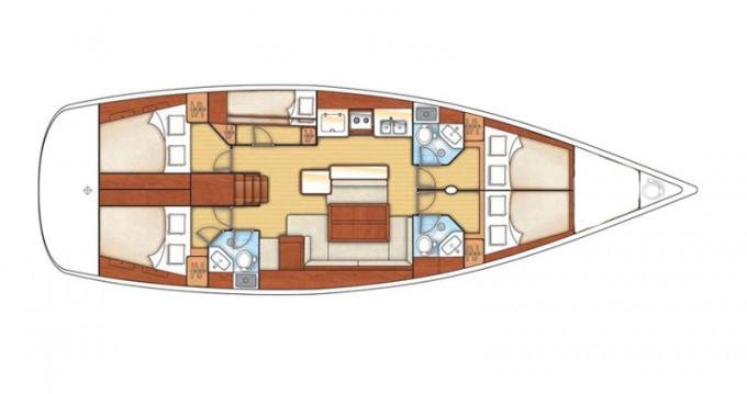 Location yacht à Betina - Bénéteau Oceanis 50 Family sur SamBoat