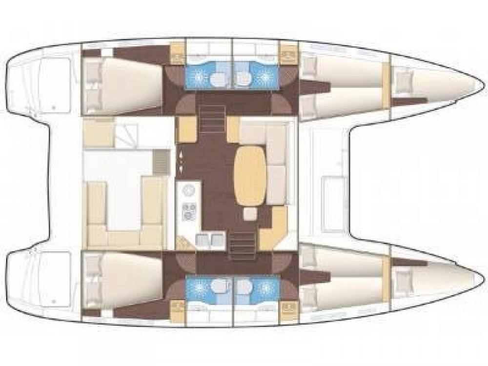 Louer Catamaran avec ou sans skipper Lagoon à Marsala Marina