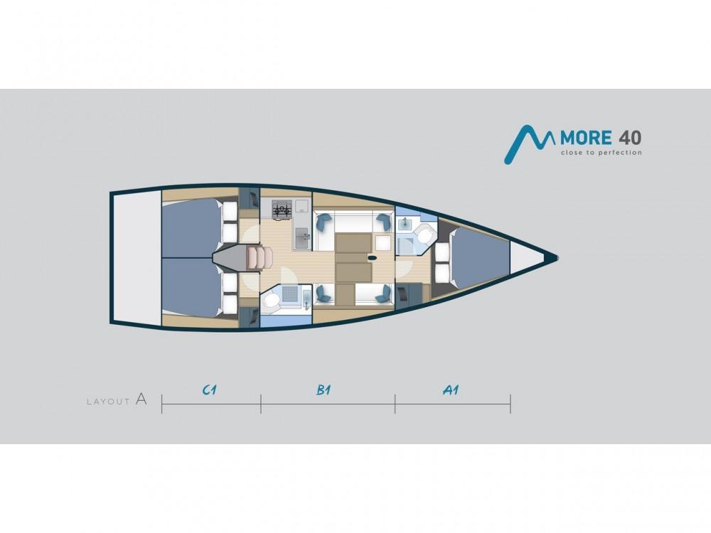 Louez un More More 40 à Marsala Marina