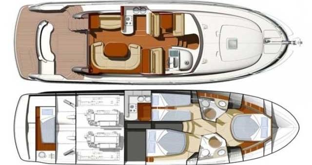 Location yacht à Primošten - Jeanneau Jeanneau Prestige 46 Fly sur SamBoat