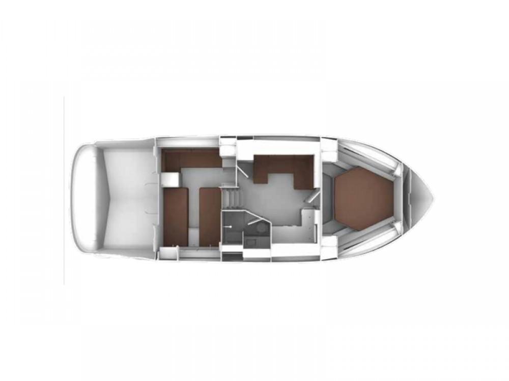 Louer Bateau à moteur avec ou sans skipper Bavaria à Pula