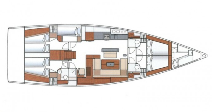 Location yacht à Palma de Majorque - Hanse Hanse 575 sur SamBoat