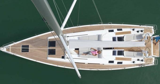 Location bateau Palma de Majorque pas cher Hanse 505