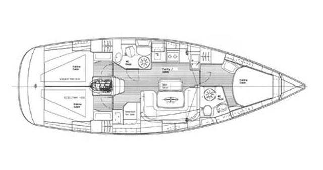 Location Voilier à Trogir - Bavaria Bavaria 39 Cruiser