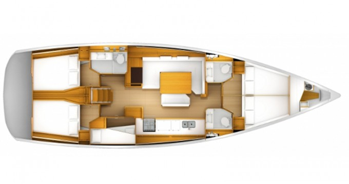 Location yacht à Keramotí - Jeanneau Sun Odyssey 509 sur SamBoat